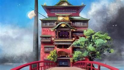 Spirited Away Miyazaki Chihiro Hayao Japan Wallpapers