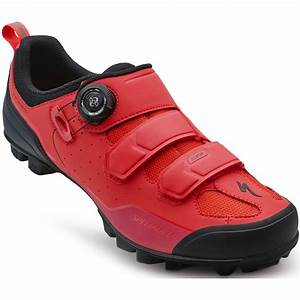 Specialized Comp MTB Shoe - Rocket Red Dipped - Bike24