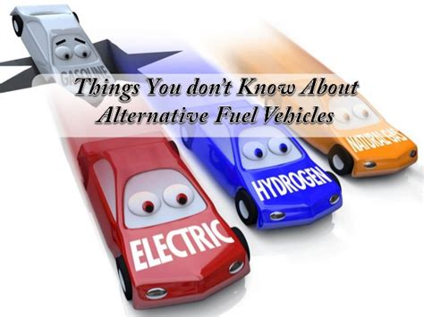 Alternative Fuel Vehicles By State