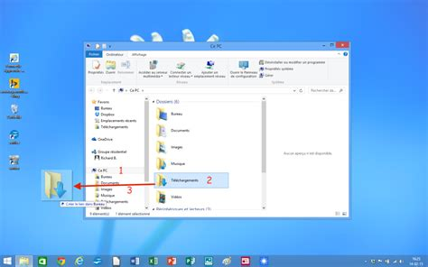 windows 8 1 bureau creer un raccourci bureau 28 images module 2 le syst