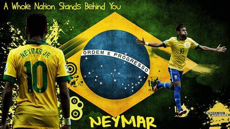 Brazil Neymar Wallpaper Wallpapersafari