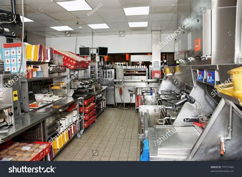 fast food cuisine kitchen of a fast food restaurant stock photo 79721464