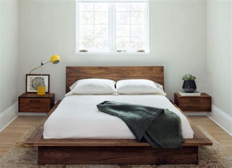 Solid Wood Platform Bed