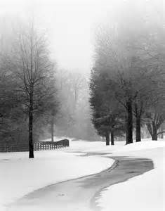 Black and White Landscape Photography Winter