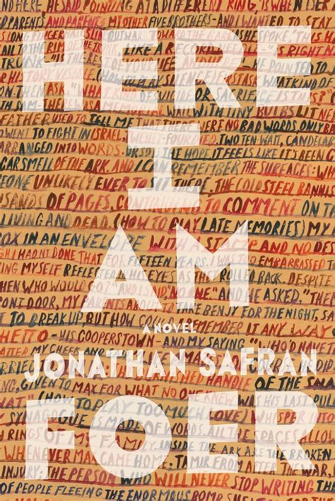 Book Review  Here I Am By Jonathan Safran Foer