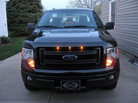 Truck Grill Lights by 2013 2014 Ford F 150 Raptor Style Grill Light Kit