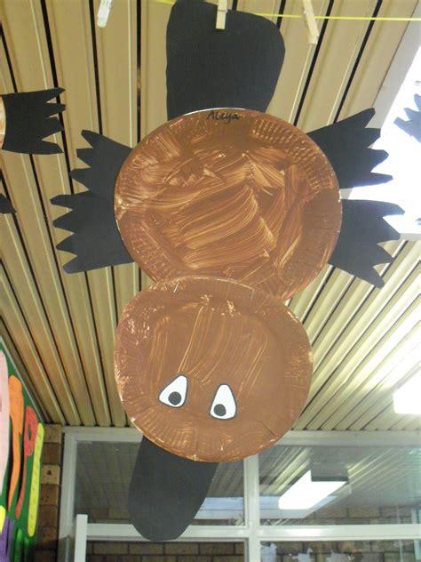 paper plate platypus animal crafts  kids australia