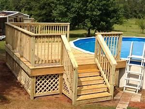 Pool Dach Rund : 50 best above ground pools with decks ~ Watch28wear.com Haus und Dekorationen