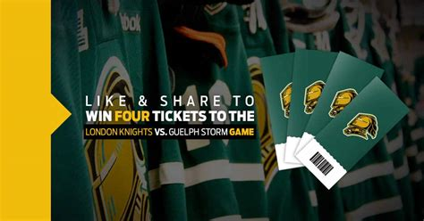 Win 4 Free London Knights Tickets This Thanksgiving