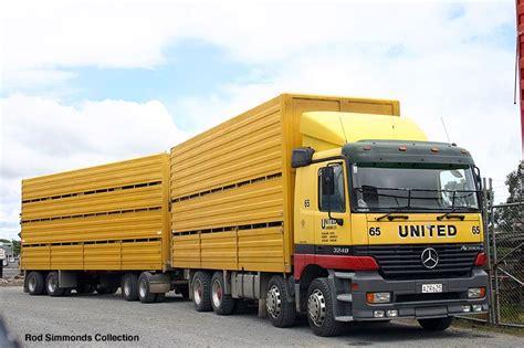 Mercedes Actros United Twin Steer Trucks Big