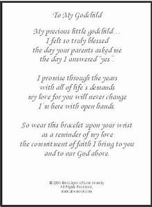 to my godchild godchild gift religion pinterest With letter to goddaughter from godmother