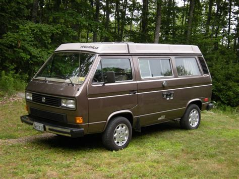 volkswagen vanagon 1986 vw vanagon westfalia gl cer for sale in maine
