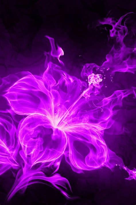 purple flames wallpaper wallpapersafari