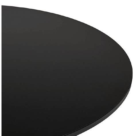 table basse design yael en bois  metal brosse noir