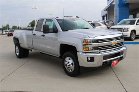 Sell New New 2015 Chevy Dually 3500hd Double Cab Long Box