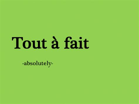 absolutely in french #frenchlanguagelearning | Basic ...