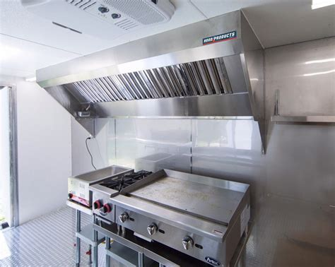 6? Food Truck and Concession Trailer Hood System with