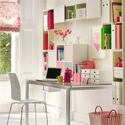 desk with lots of storage 51 cool storage idea for a home office shelterness