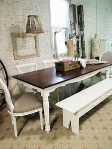Holztisch Shabby Chic : vintage dining room dining room pinterest esszimmer esszimmer m bel und tisch ~ Frokenaadalensverden.com Haus und Dekorationen