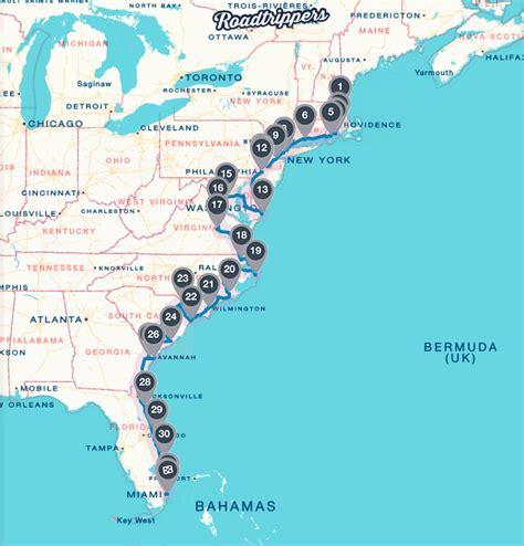 road trip to east coast the ultimate atlantic coast road trip