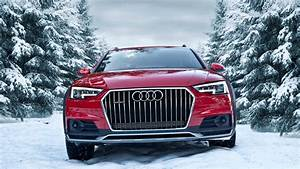 2017 Audi A4 Allroad 2 0tdi Quattro In Snowy Forests In Tatra Mountains