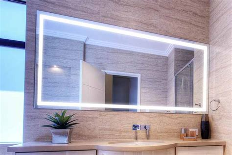 Large Bathroom Mirrors With Lights by 9 Benefits Of Using Led Mirrors For Your Bathroom