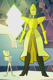 Steven Universe Diamond Yellow