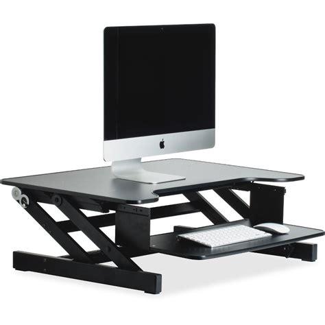computer riser for desk lorell monitor riser llr81974 supplygeeks com