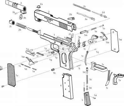Exploded View Parts List Springfield Pistols