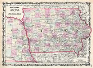 Kansas-Missouri Nebraska-Iowa Map