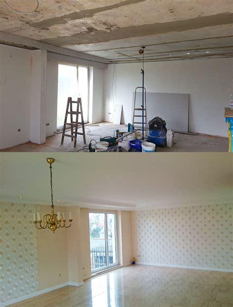 Wand Gleichmäßig Streichen by Wand Spachteln Und Streichen Decke Und Wand Streichen