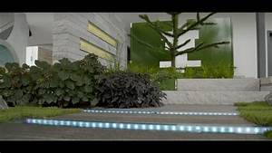 Gartengestaltung Mit Licht : garten moderne gartengestaltung mit licht und wasser youtube ~ Sanjose-hotels-ca.com Haus und Dekorationen