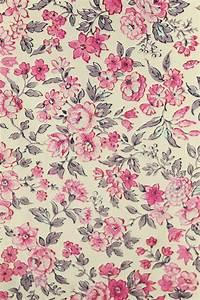 Vintage Floral Wallpaper   The Villa on Mount Pleasant