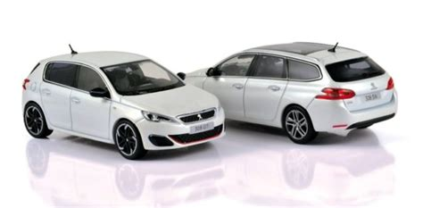 peugeot 308 gti white norev new 1 43 peugeot 308 gti and 308 sw diecastsociety com