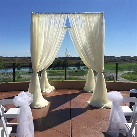 Pipe And Drape Rental Los Angeles - wedding drape chuppah las vegas san diego los angeles