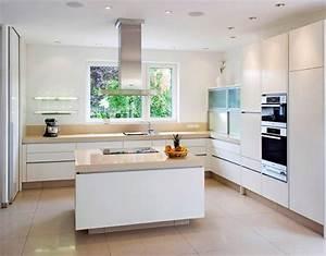 Küche Landhausstil Weiß Modern : grifflose k che in eiche und lack wei tischlerei pfaar ~ Indierocktalk.com Haus und Dekorationen