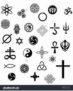 symbols vector set of ...Religions Of The World Symbols