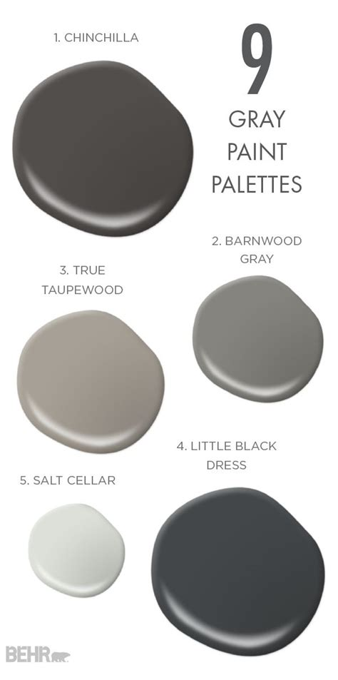 true grey paint colors 100 best gray and black rooms images on 6388