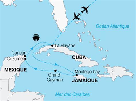 Carte Du Monde Cuba by Info Carte Jamaique Cuba
