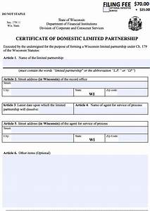 How to Start a Partnership (LP|LLP) in Wisconsin | WI ...