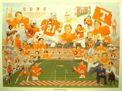 field generals tennessee vols football artwork sports print