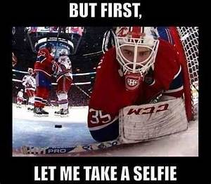But first... le... Funny Hockey Goalie Quotes