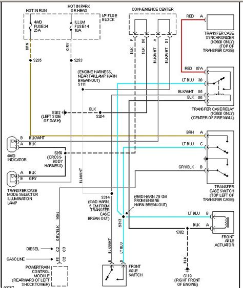 94 Chevy 1500 Transfer Wiring Diagram by 1995 Silverado Z71stopped Working Not Lighting Up The