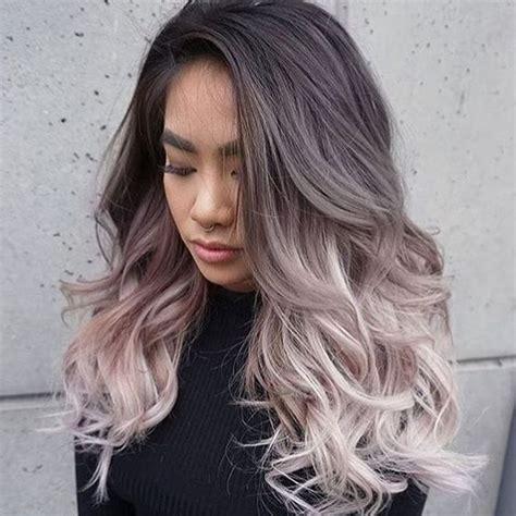 Couleur Gris Cheveux Cheveux Magazine La Tendance Smoky Hair