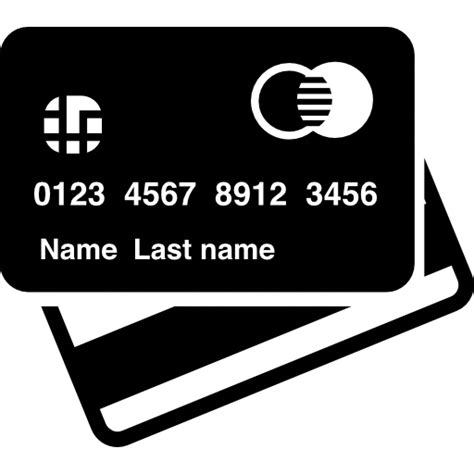 credit card front   view  icon photoshopicon