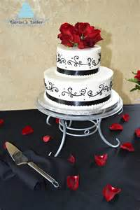black and white wedding cakes carisa 39 s cakes black and white wedding cake