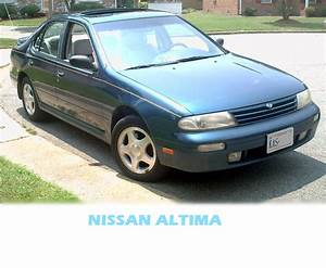 Nissan Altima 1996 Manual Book