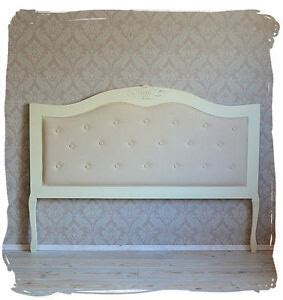 bettkopfteil antik stil bett kopfteil gepolstert wandpaneel barock ebay
