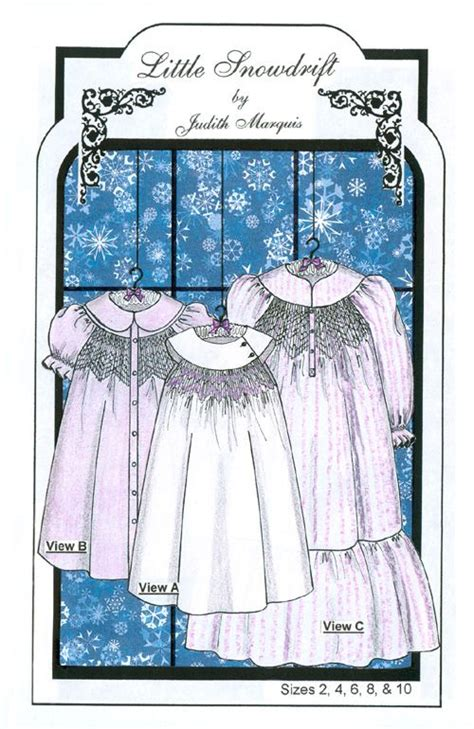 Heirloom Sewing Patterns Nightgown Girls