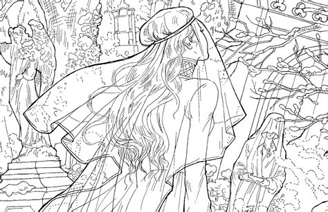 throne  glass colouring book  pattern